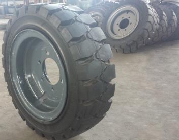 各種規格實心輪胎