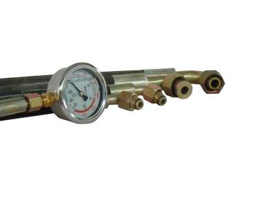 高壓油管、油壓表