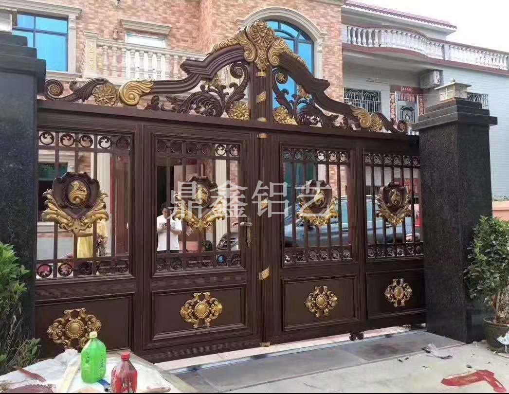 别墅铝艺大门