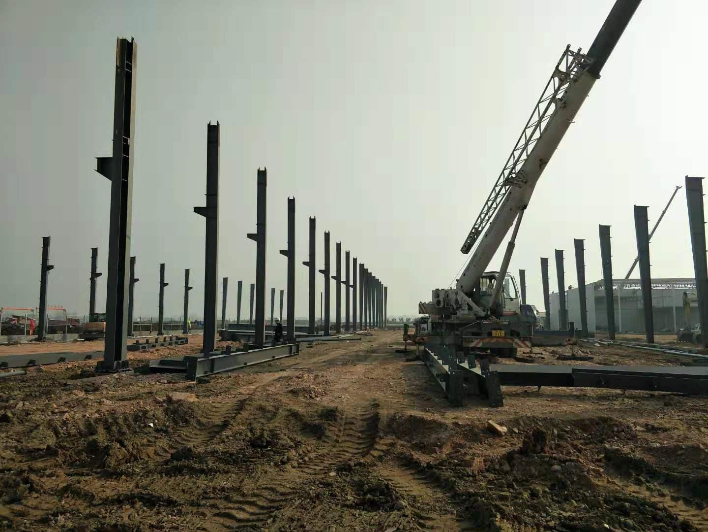 鄭萬高鐵鋼結構廠房