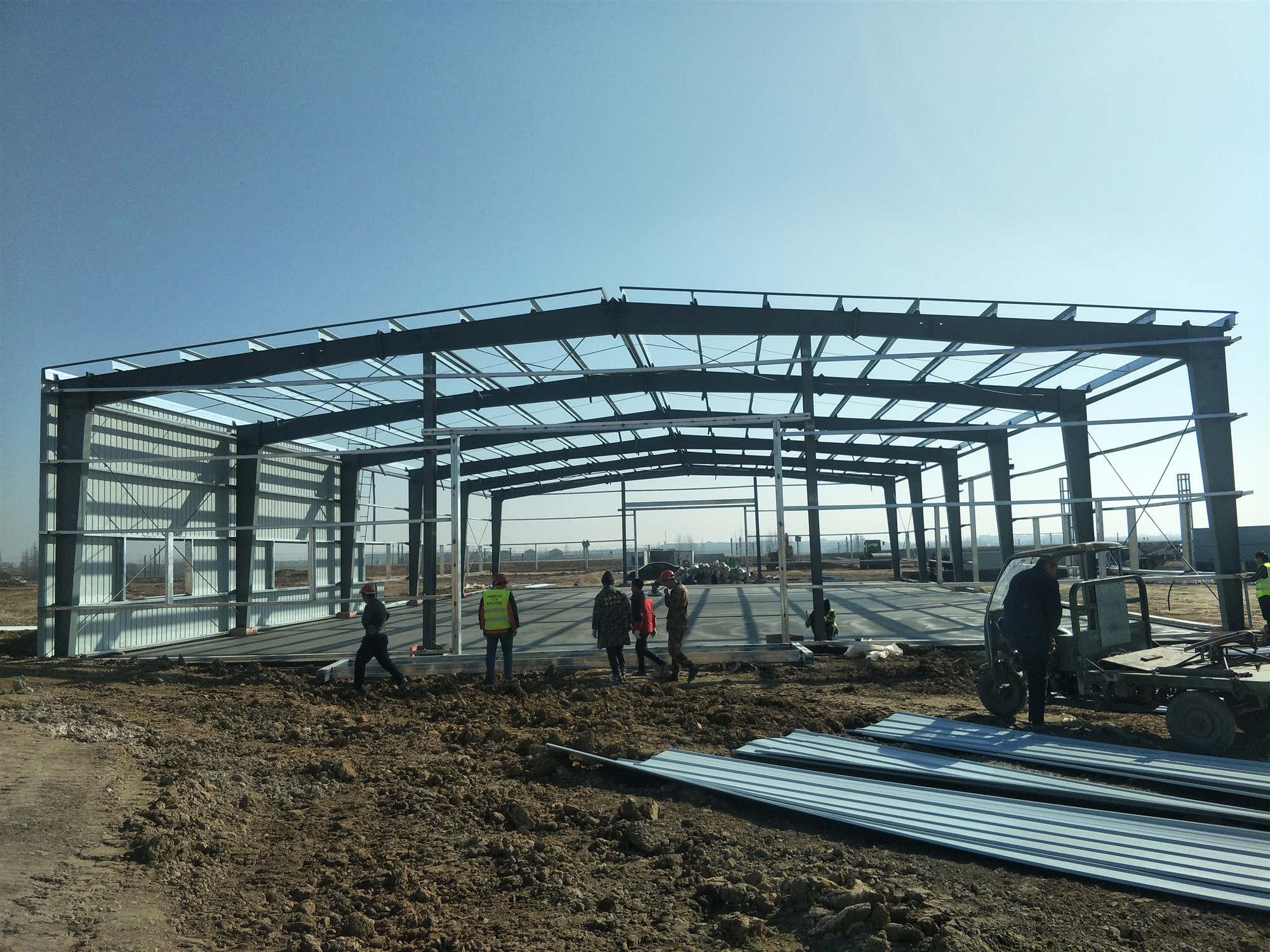 鋼結構廠房建造