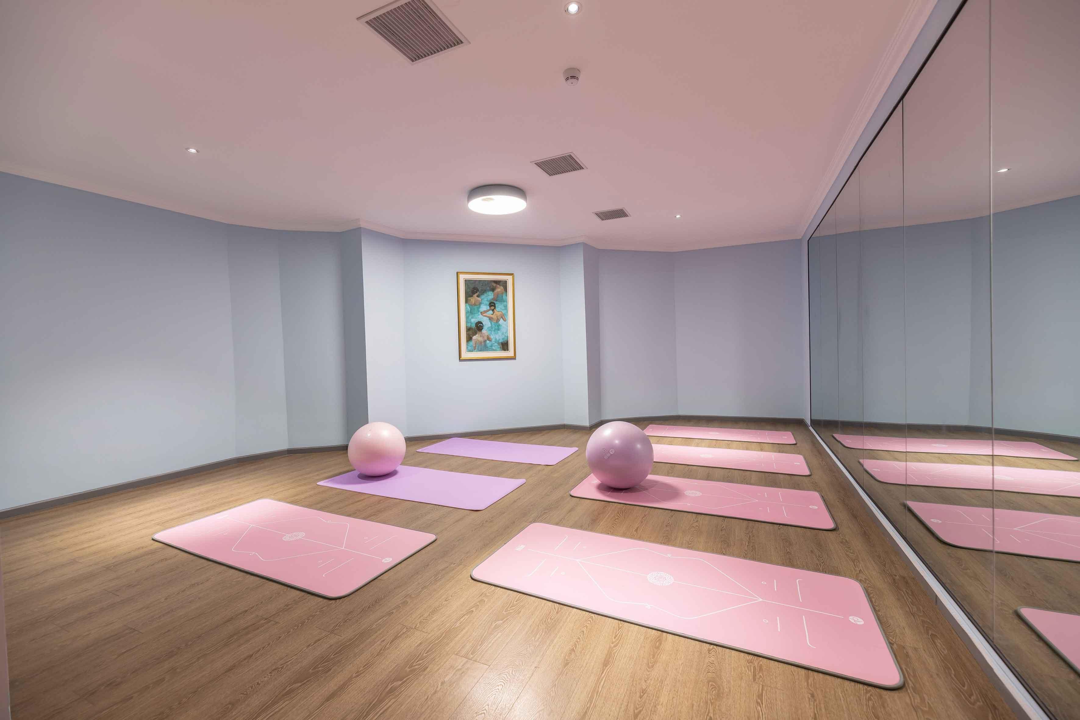 月子中心瑜伽室