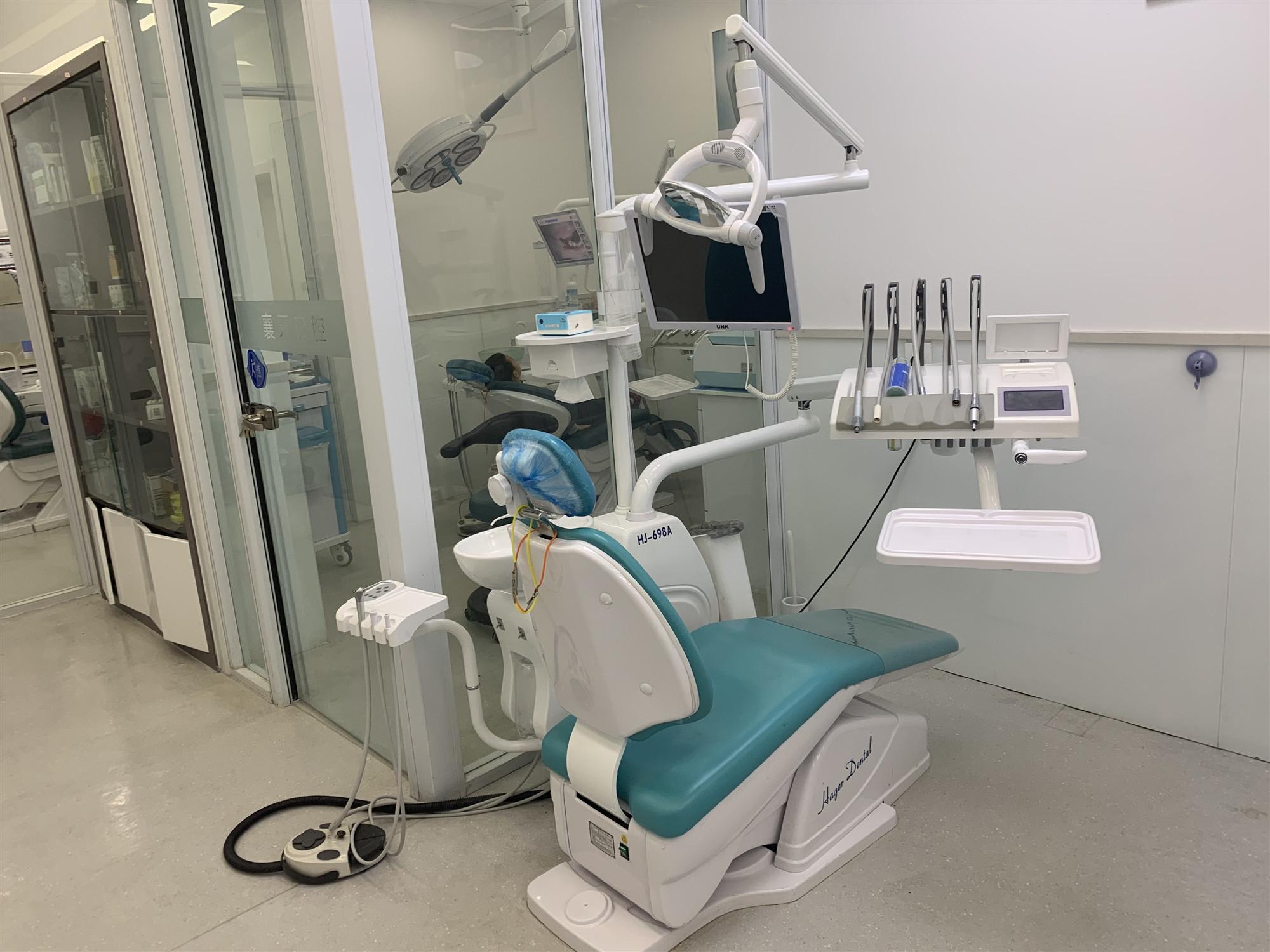 襄牙口腔诊疗室内