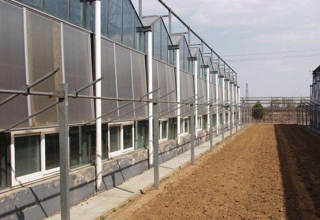 杭州玻璃连栋温室大棚