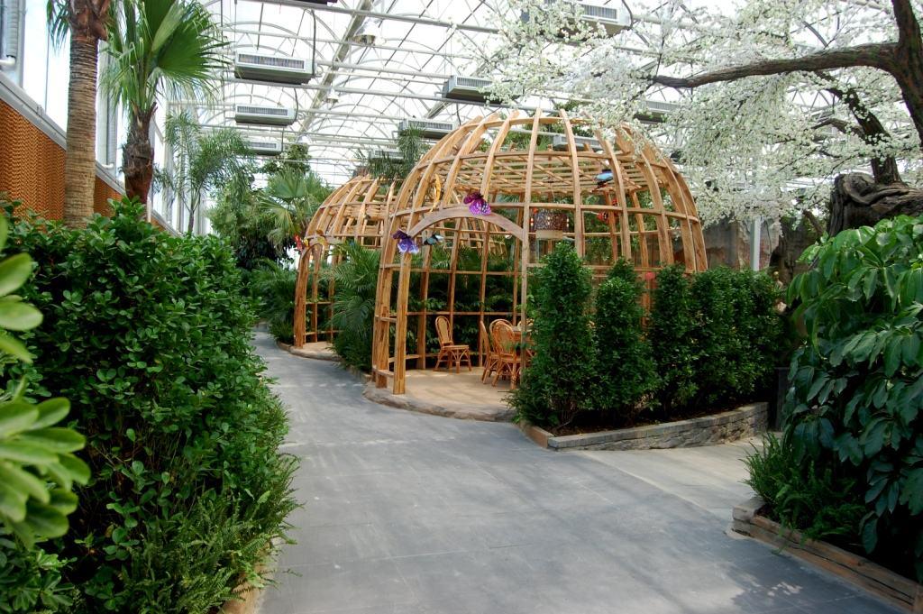武汉生态玻璃温室大棚