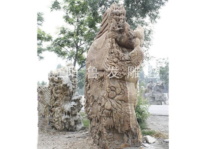 襄阳石雕人像出现损坏后该怎样修补呢