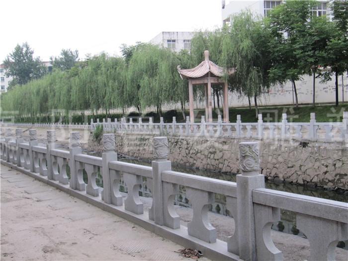 石材栏杆样式提前做好设计很关键