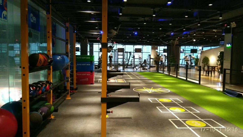 工程案例健身房設計