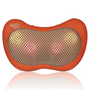 Repor/锐珀尔车载颈椎按摩器颈肩腰背部按摩枕家用电动多功能靠垫
