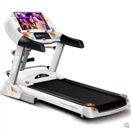 亿健V800跑步机智能电动家用款多功能wifi上网超静音彩屏跑步机