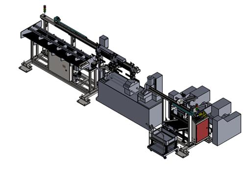 LZ-QG50自动切管倒角机