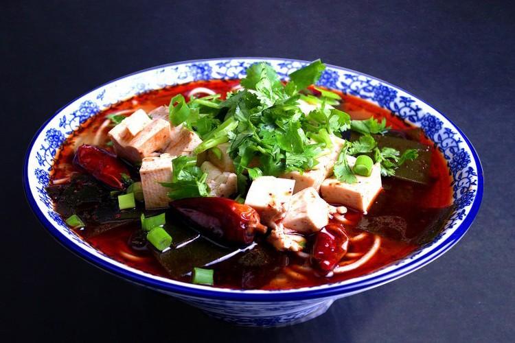 襄陽海帶豆腐面