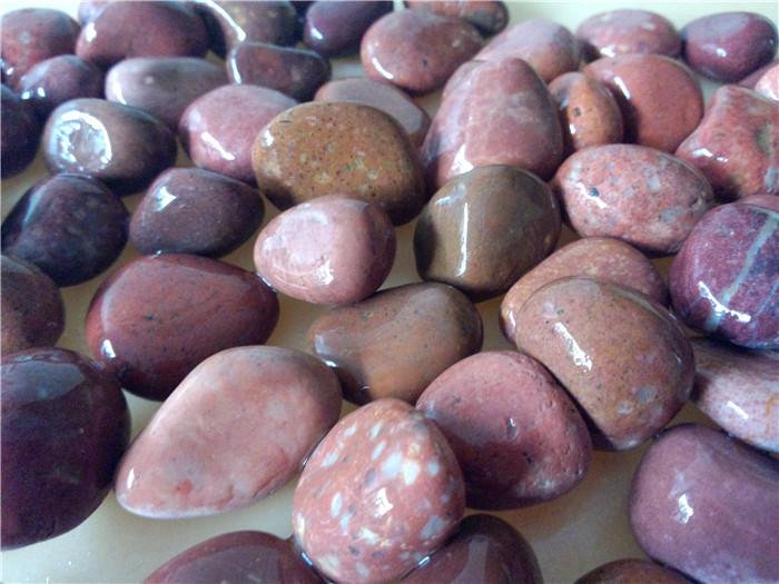 1-2cm红色鹅卵石