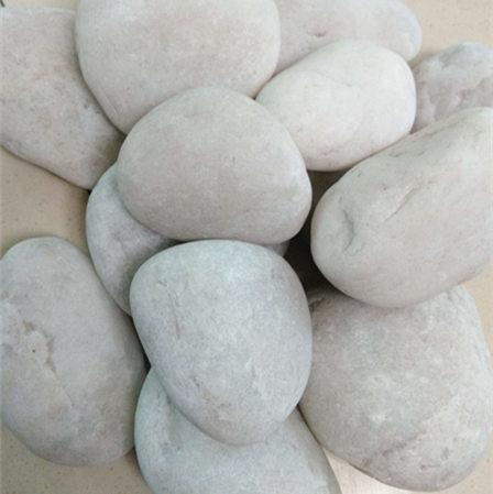 纯白鹅卵石4-5cm