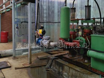 泥浆泵安装