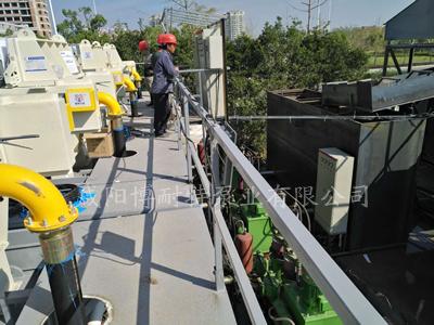 压滤机进料泵安装施工