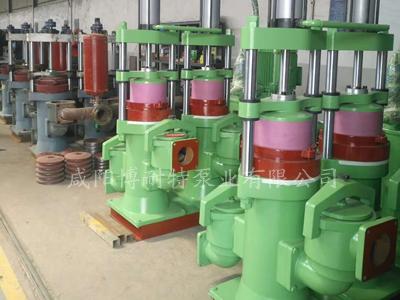 液压陶瓷柱塞泵准备发货