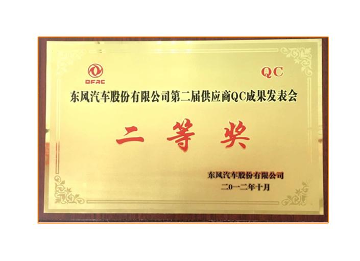供应商QC成果发表会二等奖