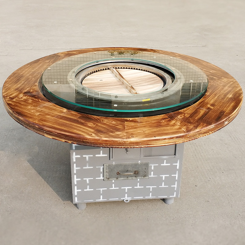 襄陽柴火雞灶臺用到的鐵鍋有哪些特點?