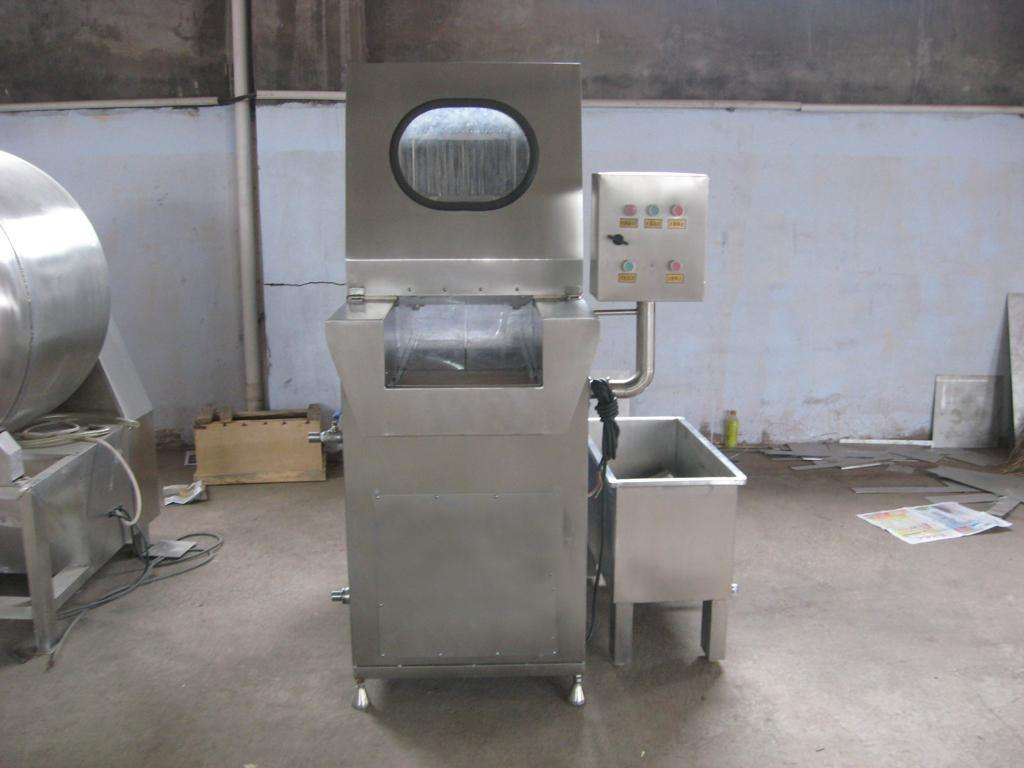 機械鹽水注射機
