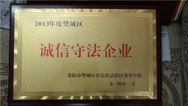 荣誉证书 6