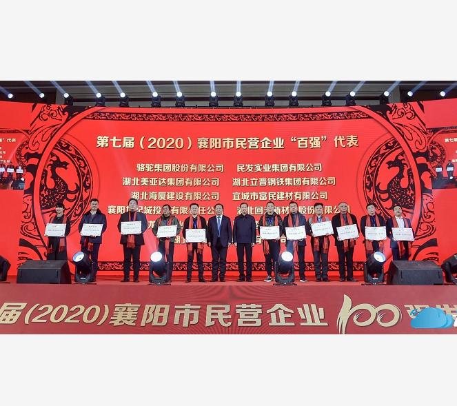 第七届(2020)襄阳市民营企业100强名单公布!襄阳世阳电机榜上有名