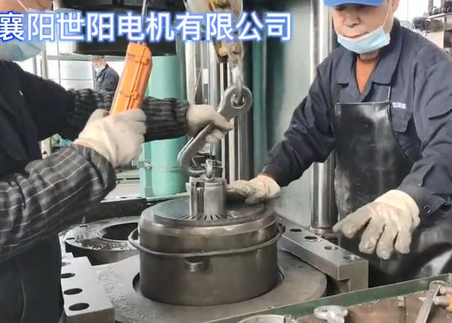 电机转子铸铝加工:关键工艺之一