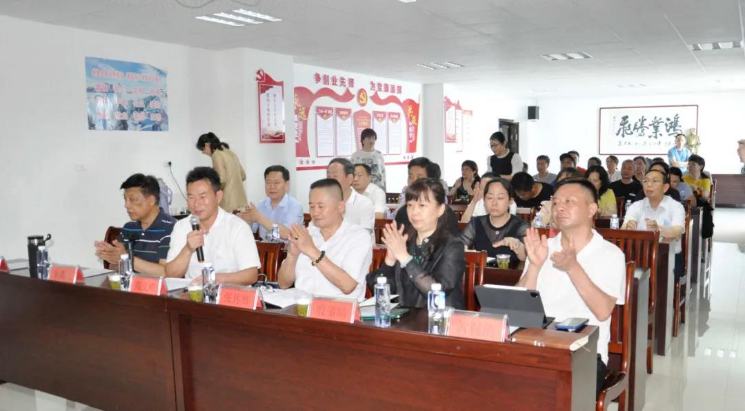 襄陽企聯四屆二次常務會長會議在世陽電機圓滿召開