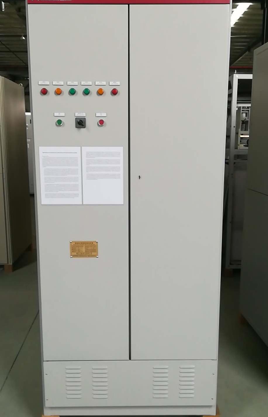 低壓繞線式電機自動液阻軟起動柜