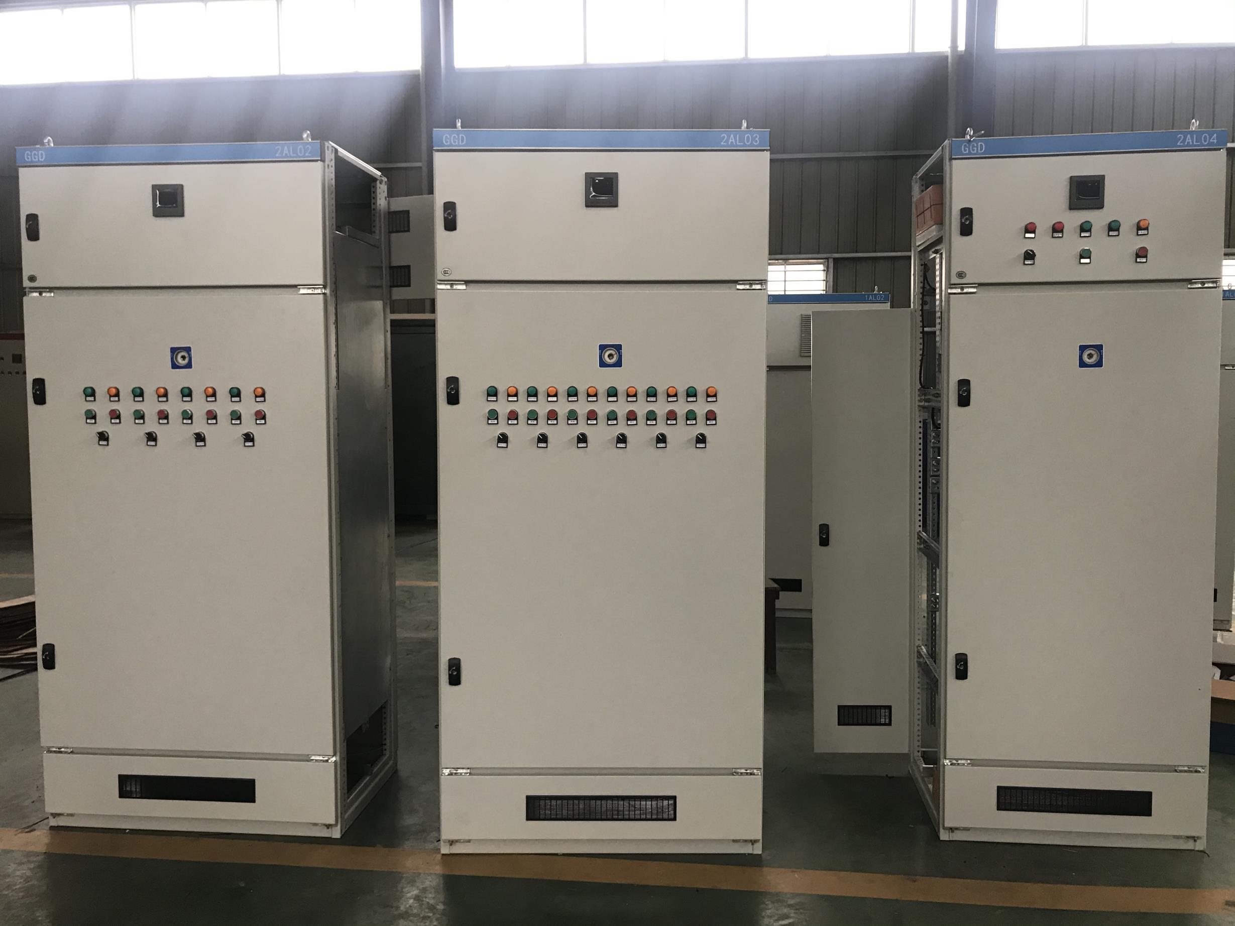 高压低压开关柜 多型号多规格三子电气设备厂家供应