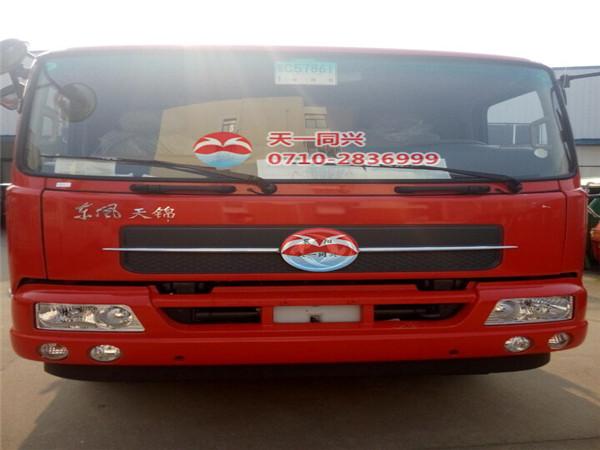 东风天锦驾驶室二代红色