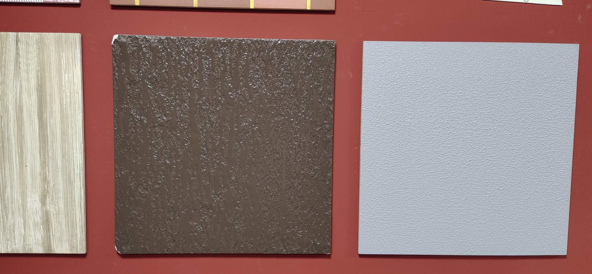 真石漆色板展示