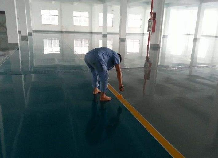 环氧固化地坪修缮