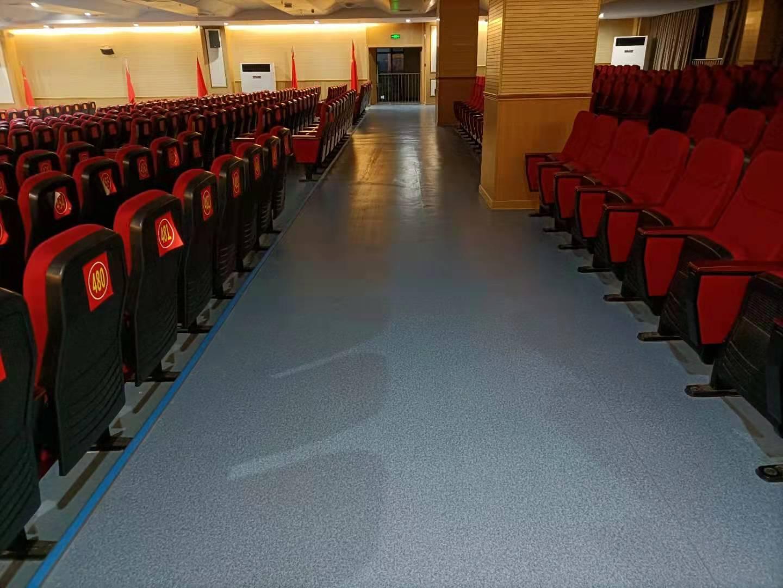 襄阳枫叶学校PVC地板