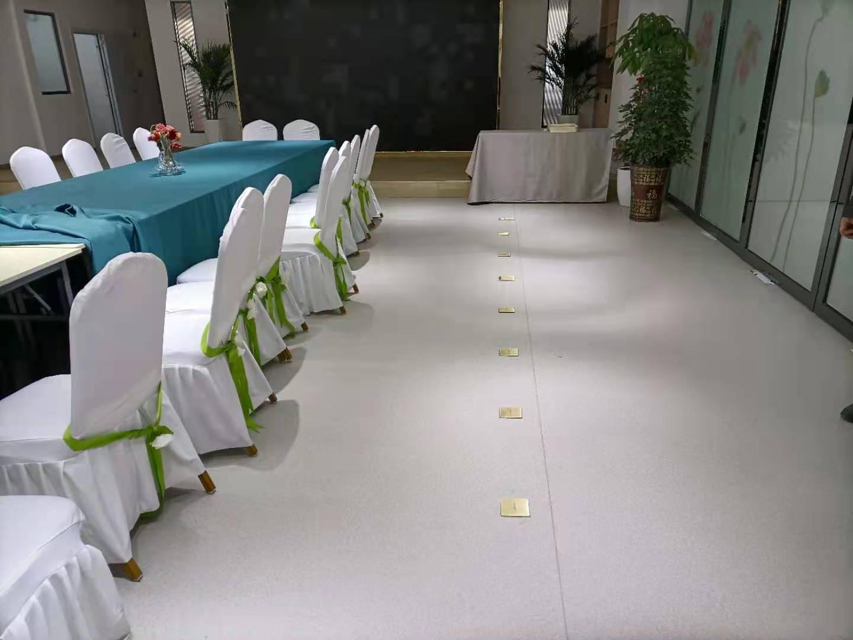 襄阳天贸城PVC地板施工