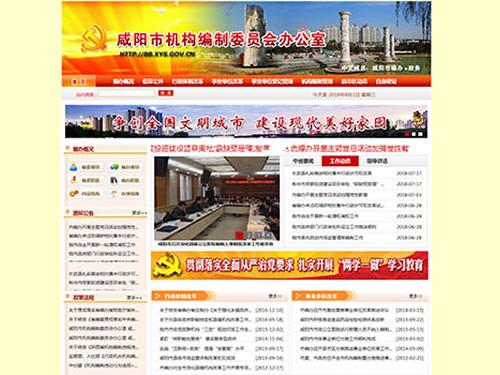 咸阳市机构编制委员会办公室