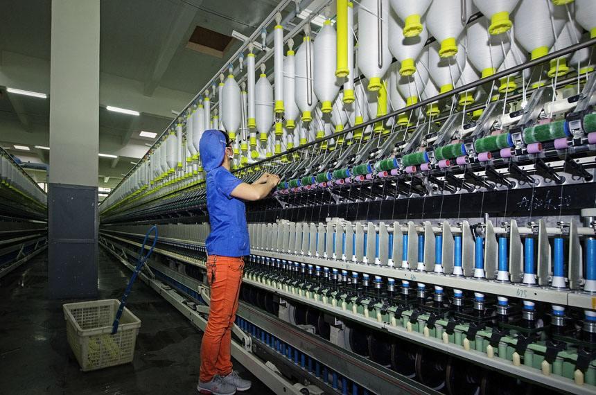 2017年10月18日全国纺织器材企业齐聚咸阳共话未来