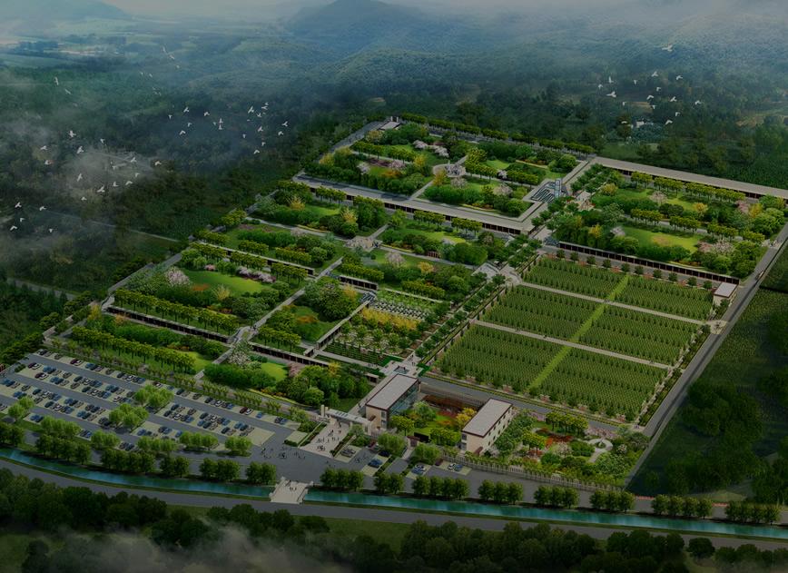 秦汉上林园全景