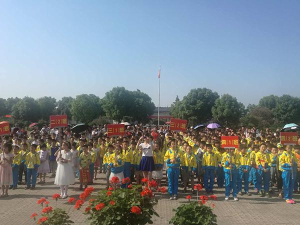 襄樊星旺学校丰富多彩运动会