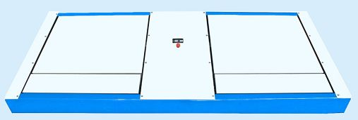 双板侧滑试验台