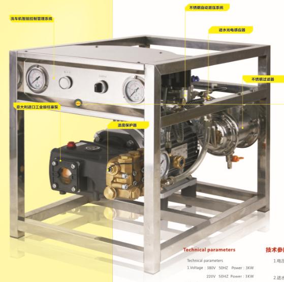 襄阳高压洗车机厂家教您如何选购高压洗车机
