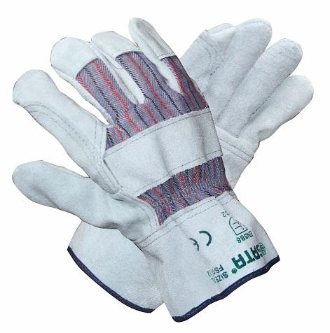 经济型半皮手套L