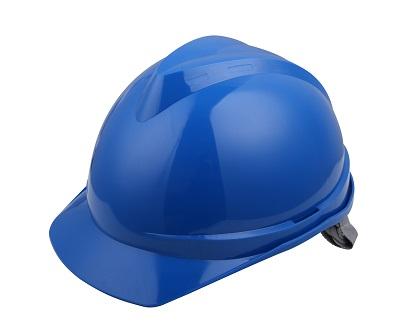 V顶标准型安全帽-蓝色