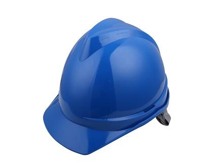 V顶ABS标准安全帽-蓝色