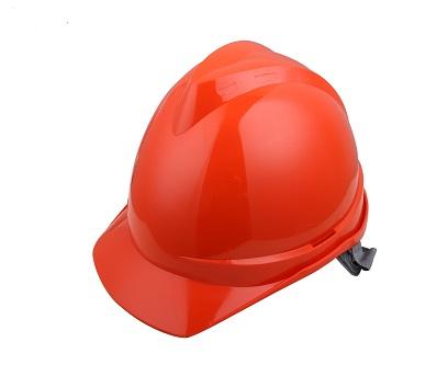 V顶ABS标准安全帽-橙色