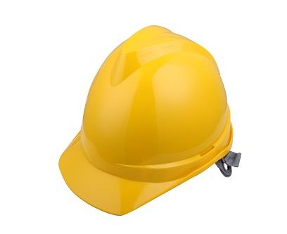 V顶ABS标准安全帽-黄色