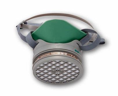 硅胶防毒半面罩(单滤盒)
