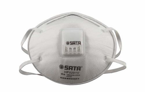 头戴式KN95杯型带阀口罩