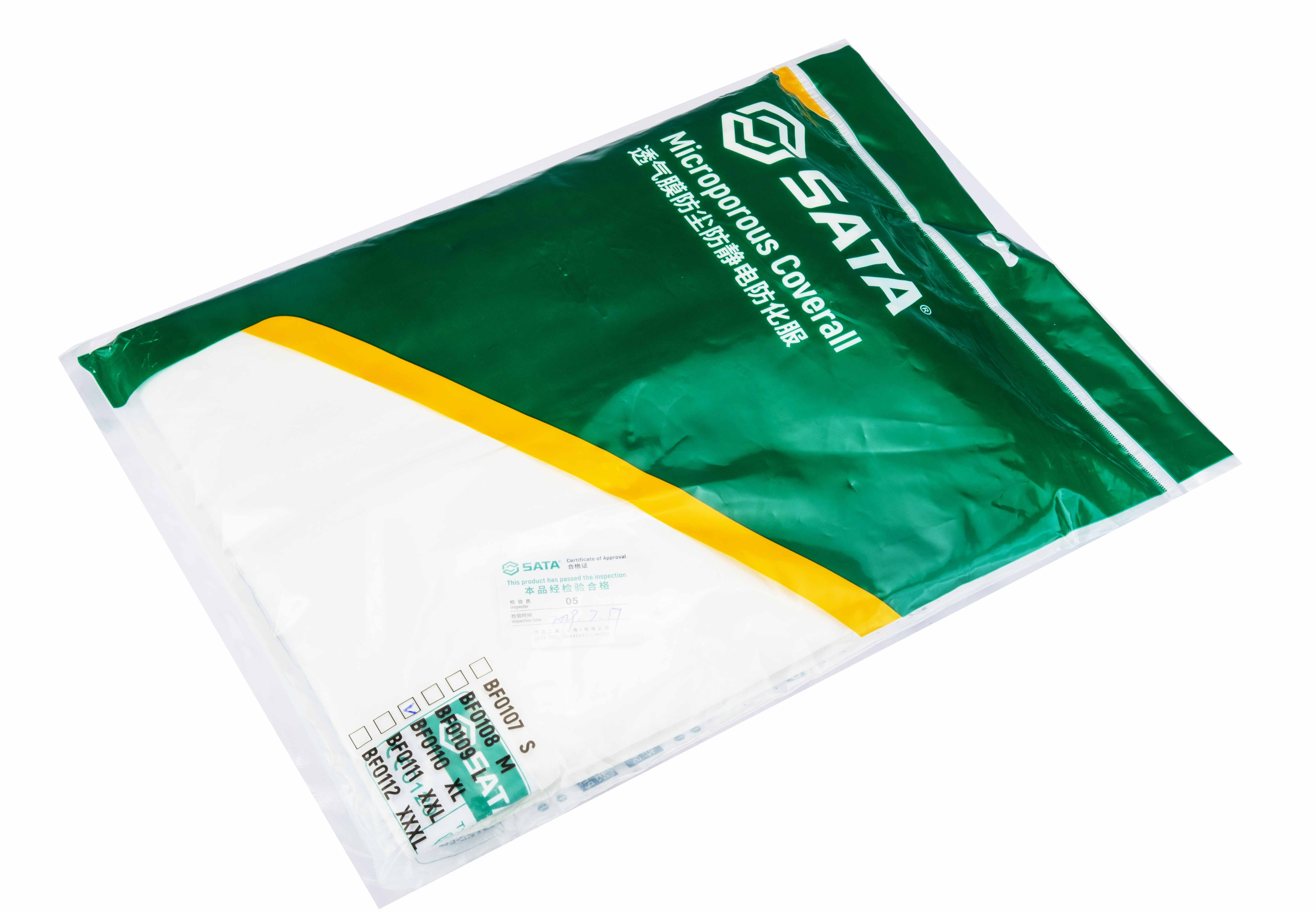 透氣膜防塵防靜電防化服