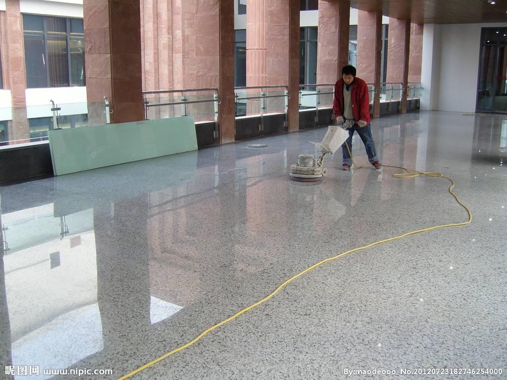 咸陽保潔公司地坪翻新、維護